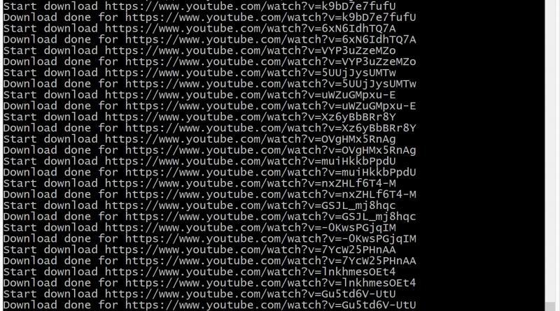 python youtube downloader