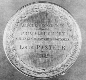 Louis Pasteur medalje