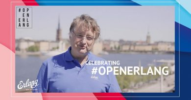 "20-års jubileum for ""open source"" Erlang"