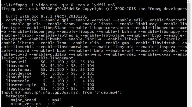 ffmpeg tips