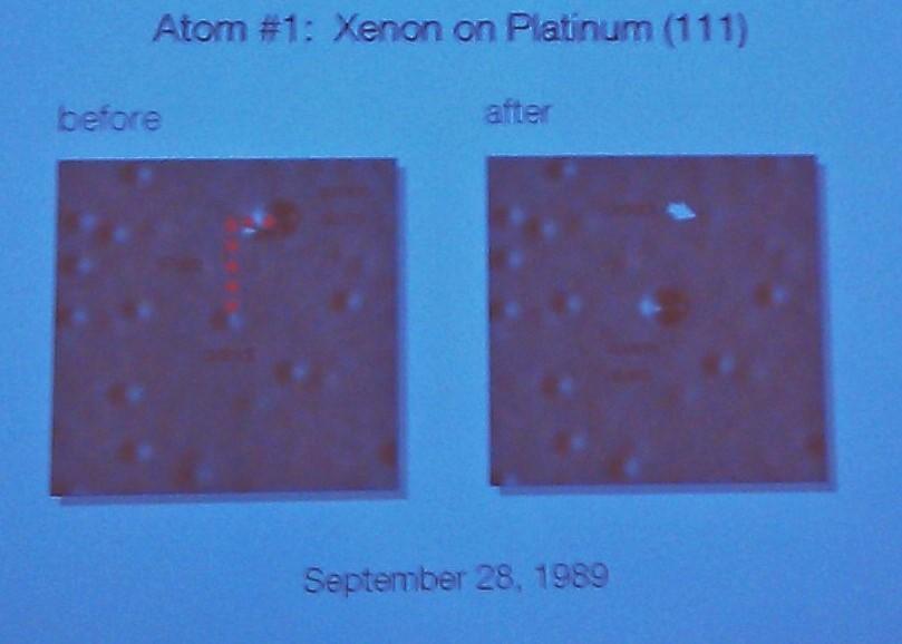 IBM flytting av atom